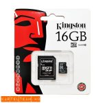 Kingstone Micro SD HC 16gb bliszterben